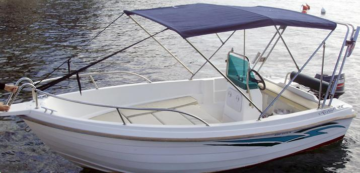 Rent a boat Croatia - REFUL 490 OPEN